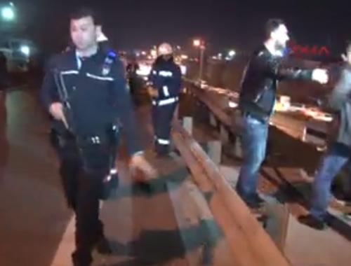 İstanbul'da olay yerinden ilk görüntüler