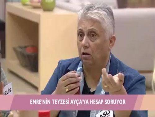 Kısmetse Olur'da Emre'nin teyzesi Ayça'ya hesap sordu!