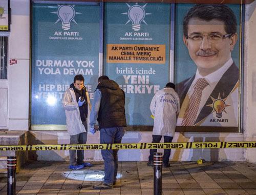 İstanbul'da AK Parti temsilciliğine molotof