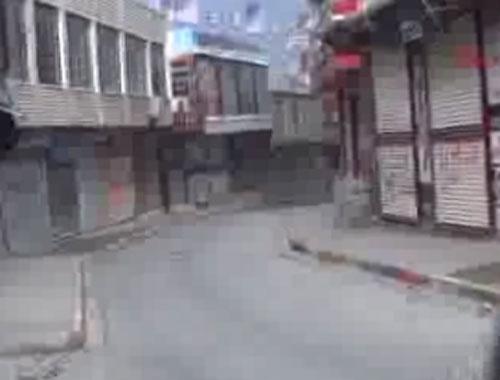 Şırnak'taki sokağa çıkma yasağına protesto