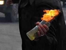 Ankara'da bir markete molotoflu saldırı