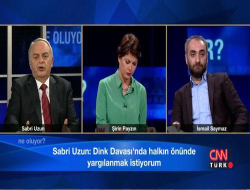 İsmail Saymaz, Sabri Uzun'u canlı yayında topa tuttu!