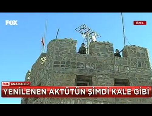 Aktütün Karakolu artık geçilmez bir kale!