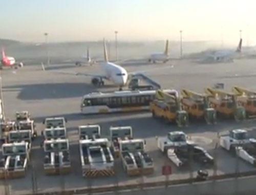 Sabiha Gökçen Havalimanı'na havan saldırısı