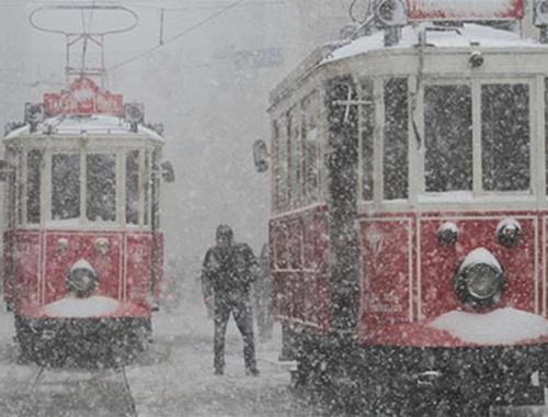 İstanbul'a yoğun kar geliyor!