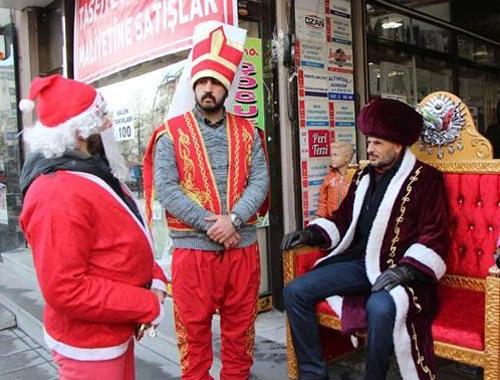 Türkiye'nin  'Noel Baba' ile imtihanı