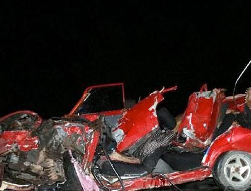 Antalya Kemer'de feci kaza