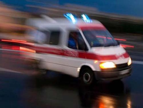 Ambulansın içi polisleri şaşkına çevirdi