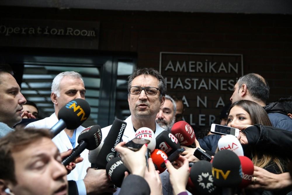Mustafa Koç'un öldüğü hastaneye ziyaretçi akını