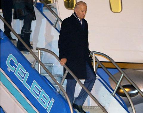 ABD Başkan Yardımcısı Biden Türkiye'ye geldi
