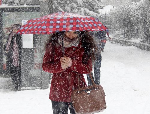 Hava durumu kar yağışı için yeni tarih!