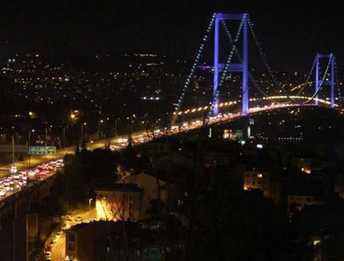 İstanbul'da trafik yoğunluğu zirvede!