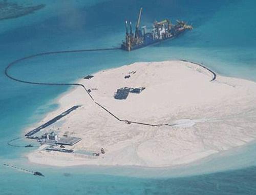 Çin'in yapay adaları 2 ülkeyi gerdi