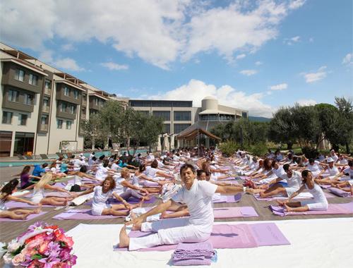 Kazdağlarında uluslararası Yoga Festivali