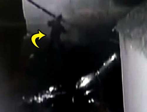 Bombacı kameraya yakalandı!