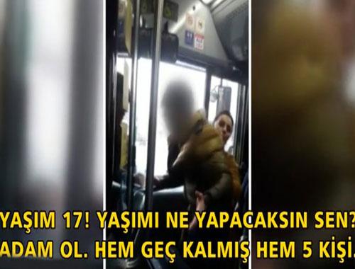 Otobüs şoförüne yumruklu saldırı!