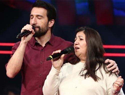 O Ses Türkiye'de anne-oğul düeti!
