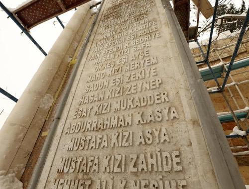Gaziantepli şehit kadınların anıtı yapılıyor