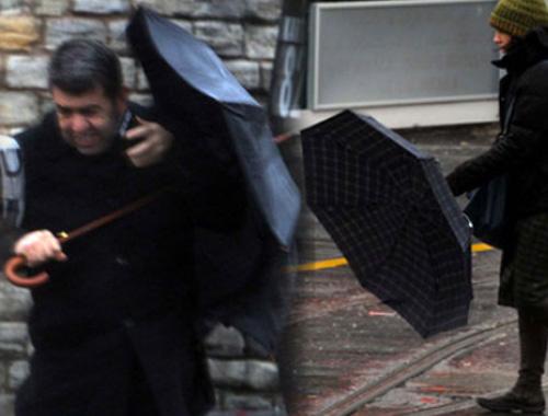 İstanbul'u fena vurdu ayakta bile durulmuyor