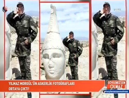 Yılmaz Morgül'ün askerlik fotoğrafları ortaya çıktı