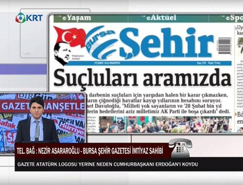 Erdoğan logusu tartışması!