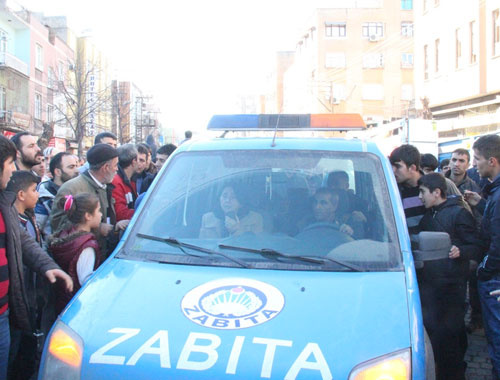 Sur'da anons yapan HDP'liler neye uğradıklarını şaşırdı!