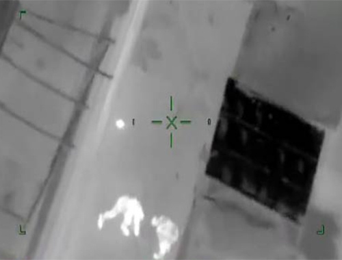 Bağlar'daki terör saldırısı havadan görüntülendi