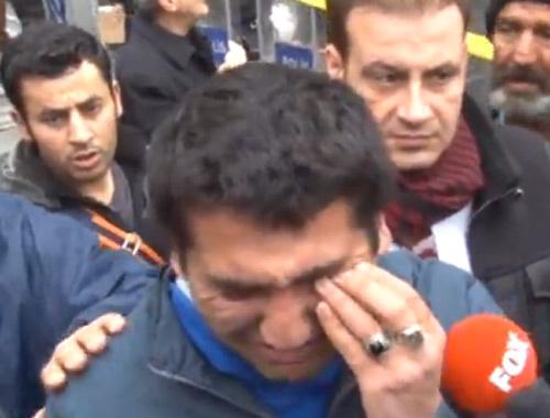 İstanbul'da patlama iki görgü tanığı ağlayarak anlattı