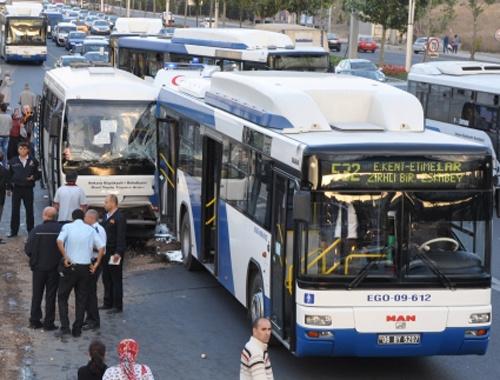 """Özel halk otobüsü şoförlerine """"terör"""" eğitimi"""