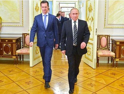 Esad'dan Vladimir Putin'e Palmira teşekkürü