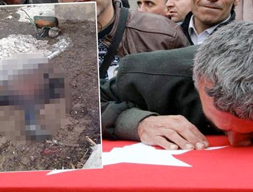 Oğlunu şehit eden teröristin fotoğrafını paylaştı bakın ne yazdı!