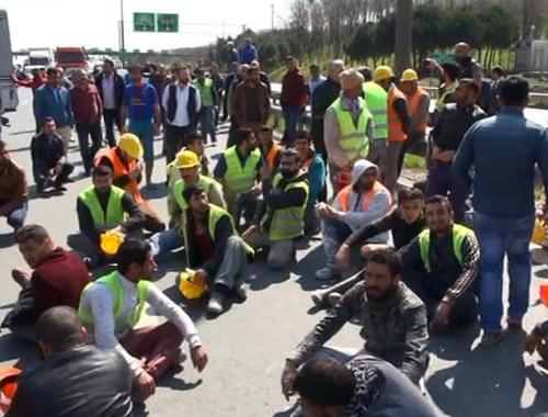 Avcılar-TEM bağlantı yolunda eylem trafik durdu