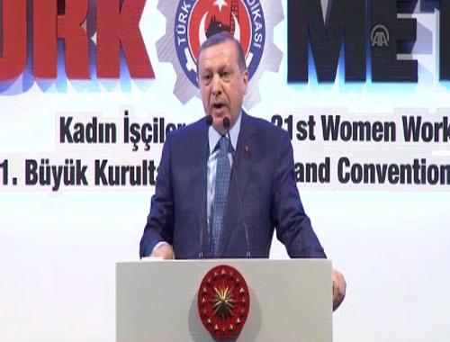 Erdoğan: En büyük saygıyı hak edenler şehitlerimizin anneleridir
