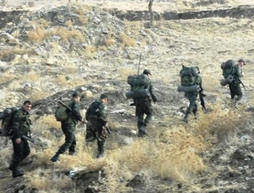 Muş'ta çatışma çıktı teröristler öldürüldü