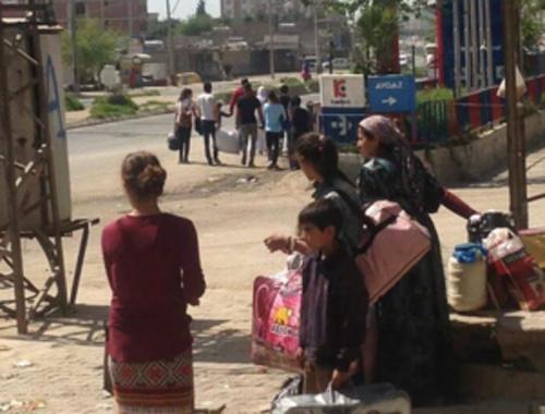 Silopi'de çatışma çıktı vatandaş kaçıyor!