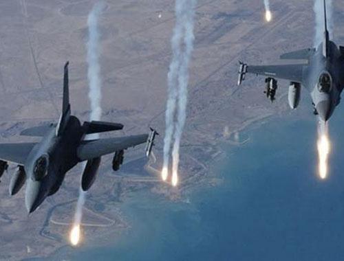 Kuzey Irak'ta PKK kamplarına hava operasyonu