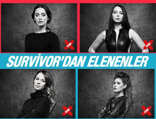 Survivor kimler elendi ünlüler ve gönüllüler SMS oy sıralaması