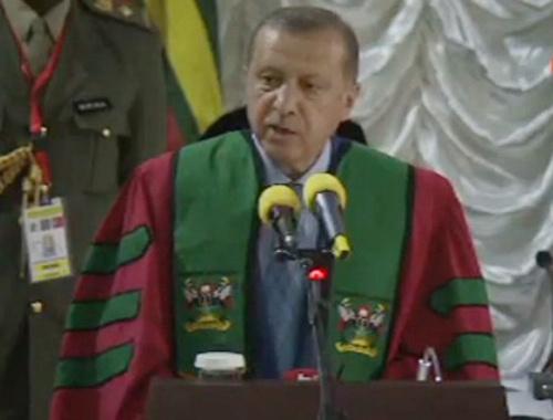 Erdoğan'da Uganda'da flaş açıklamalar...