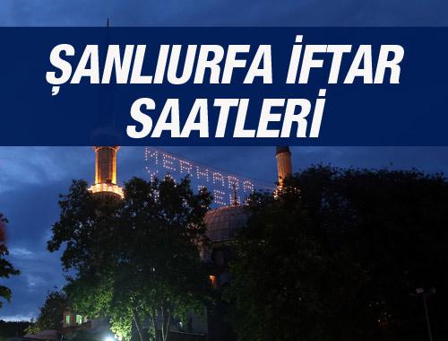 Şanlıurfa iftar vakti 2016 sahur saatleri ezan vakitleri