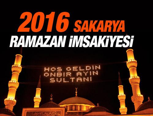 Sakarya iftar vakti 8 Haziran 2016 imsakiye