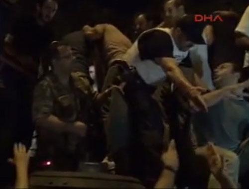Emniyet müdürü Mithat Aynacı Vatan Caddesi'nde tank içinde yakalandı