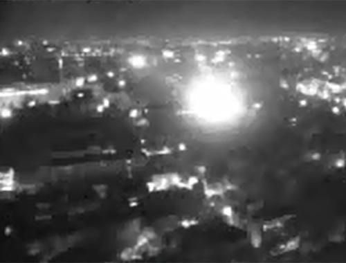 Darbe videoları! Meclis'in vurulma anı MOBESE'de