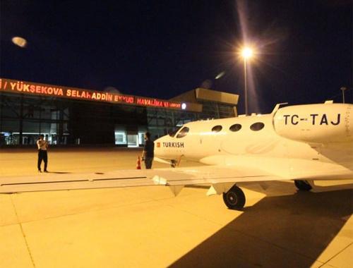 Tehditlere rağmen 11 ay sonra ilk uçuş