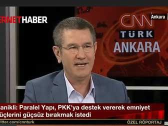 Canikli'den FETÖ PKK bombası