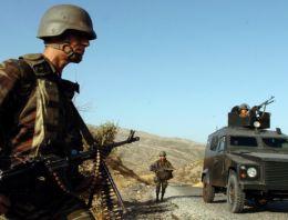 Hudut Bölük Komutanlığı'na havanlı saldırı!