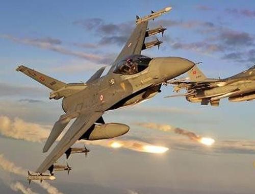 TSK'dan Çukurca ve Tendürek'e hava operasyonu