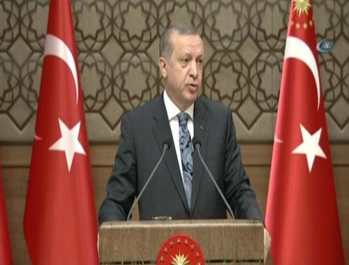 Erdoğan'dan sert sözler: Sen kendini ne sanıyorsun!