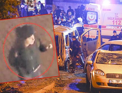 Polis Beşiktaş saldırısındaki gizemli kadının peşinde