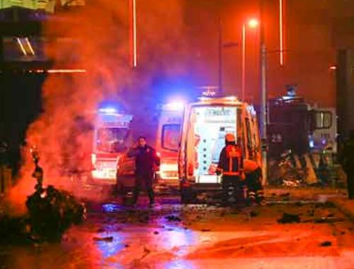 Beşiktaş saldırısında şoke eden ayrıntılar bu kadın kim?