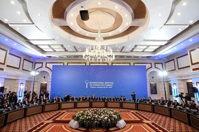 Astana'da son durum! Türkiye Rusya ve İran anlaştı